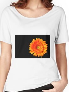 Orange Gerbera Women's Relaxed Fit T-Shirt