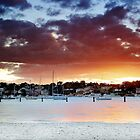Gunamatta Bay Sunset by oneshuteye