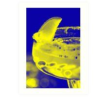 Lemon Blues Art Print