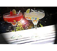 Beverage Flare Photographic Print