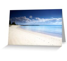 Silver Beach Kurnell Greeting Card