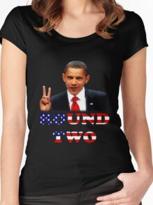 Oh Yeah Obama Women's Fitted Scoop T-Shirt