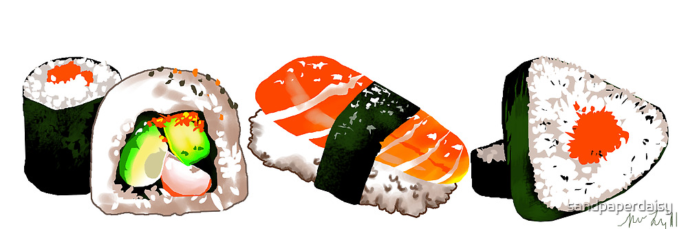Devour this SUSHI by sandpaperdaisy