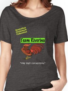 Australian Circlework Federation Team Riverina Women's Relaxed Fit T-Shirt