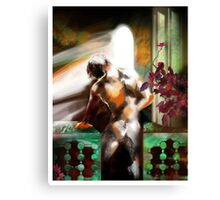 The Young King of the Black Aisles Canvas Print