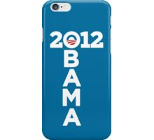Obama 2012 iPhone Case/Skin