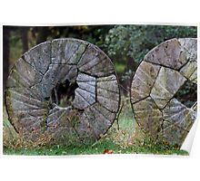 Grist Mill Stone Poster