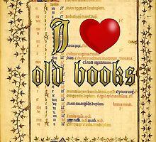 I love old books by Alicja Jaczewska