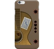 luck of the draw  iPhone Case/Skin