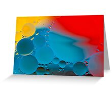 Other Worlds - abstract Greeting Card