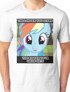 Smile At Dashie  Unisex T-Shirt