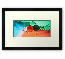 Other Worlds II - abstract Framed Print