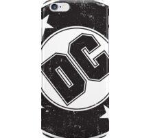 DC COMICS - VINTAGE BLACK iPhone Case/Skin