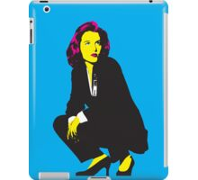 Scully x files iPad Case/Skin