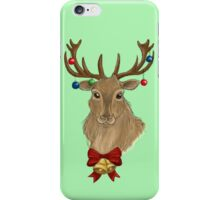 Jingle Bells Stag iPhone Case/Skin