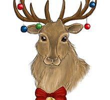Jingle Bells Stag by sillybadger