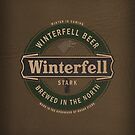 Winterfell Beer iPad case by satansbrand