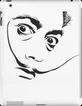 Salvador Dali by satansbrand
