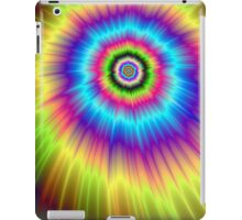 Color Explosion Tie-Dyed iPad Case/Skin