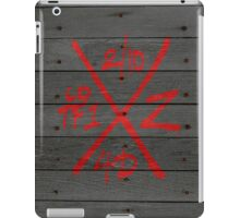 Dead Walking Zombie X-Code (RED) iPad Case/Skin