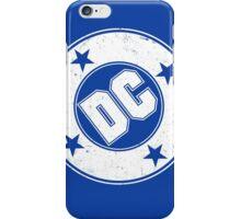 DC COMICS - VINTAGE WHITE iPhone Case/Skin