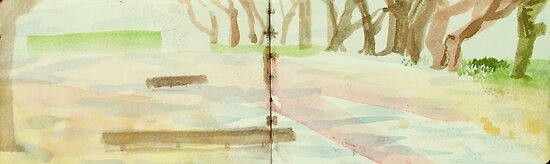 tree arbour by donnamalone