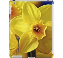 Yellow Daffodil iPad Case/Skin