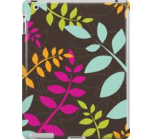 modern leaf pattern 2 iPad Case/Skin