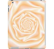 Light Peach Spiral Rose iPad Case/Skin