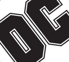 DC COMICS - BLACK Sticker