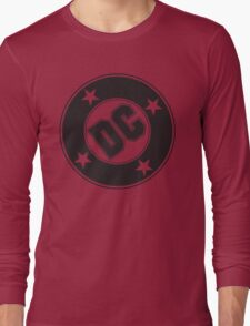 DC COMICS - BLACK Long Sleeve T-Shirt