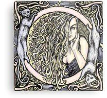 Donna Bella Metal Print