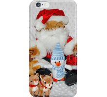 Christmas Fun for Teddy iPhone Case/Skin
