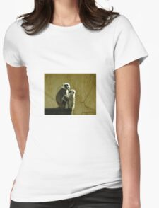 Monkeys Womens Fitted T-Shirt