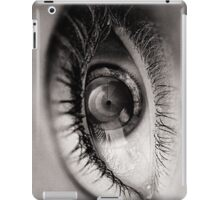 the eye as a lens iPad Case/Skin
