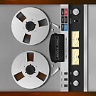 Reel-to-Reel Analogue Tape Recorder iPad Case by Alisdair Binning