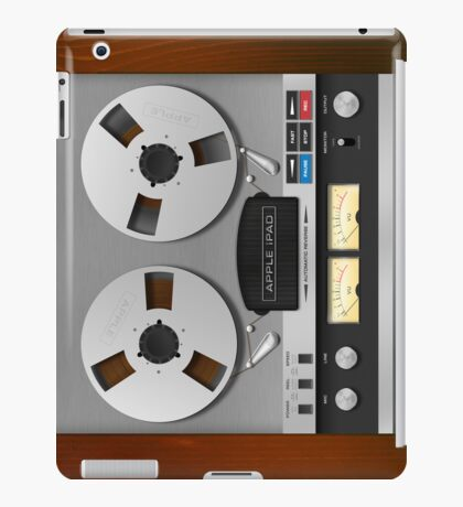 Reel-to-Reel Analogue Tape Recorder iPad Case iPad Case/Skin