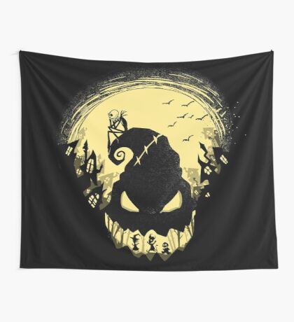 Jack's Nightmare Wall Tapestry