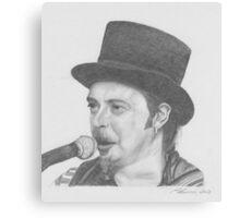 Folk Singer Canvas Print