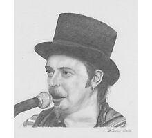 Folk Singer Photographic Print