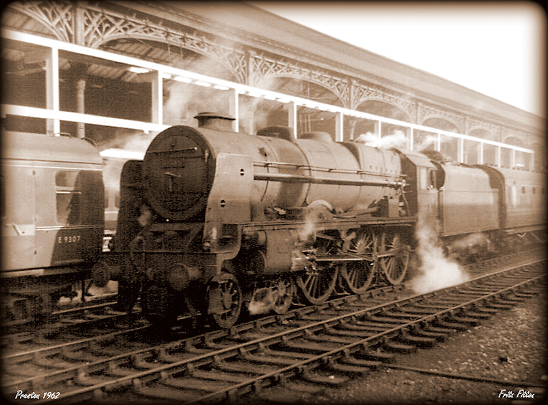 Royal Scot at Preston 1962 by FritzFitton