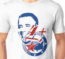 4 + OBAMA  Unisex T-Shirt