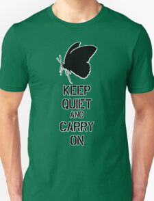 Keep Quiet and Carry on MGS V Unisex T-Shirt