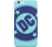 DC COMICS - CLASSIC BLUE LOGO iPhone Case/Skin