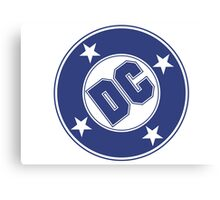 DC COMICS - CLASSIC BLUE LOGO Canvas Print