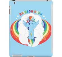 Rainbow Dash iPad Case/Skin