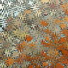 Gaudi Mosaic Abstraction by John Gaffen