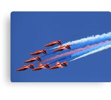 The Red Arrows ~ The Royal Air Force Canvas Print