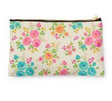 Rosie Posie floral pattern Studio Pouch