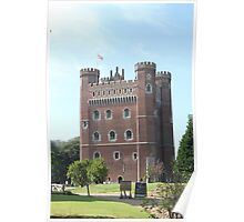 Tattershall Castle, Lincolnshire, England Poster